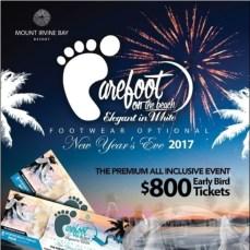 Barefoot NYE tobago 2018