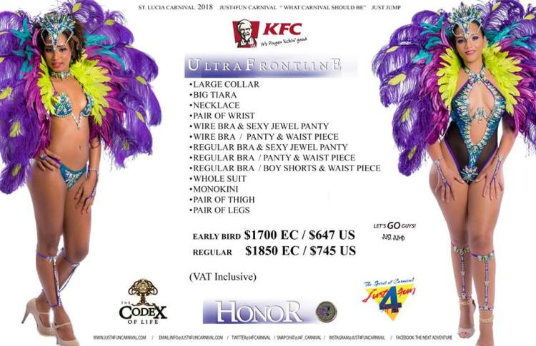 Just4Fun Carnival Band Prices_HonorUltraFrontline