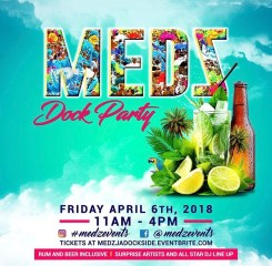 Medz Dock Party Jamaica Carnival 2018
