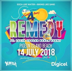 Remedy - St Lucia Carnival 2018