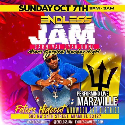 Endless Jam Miami Carnival 2018