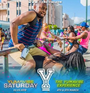 Yuma Vibe Trinidad Carnival 2019