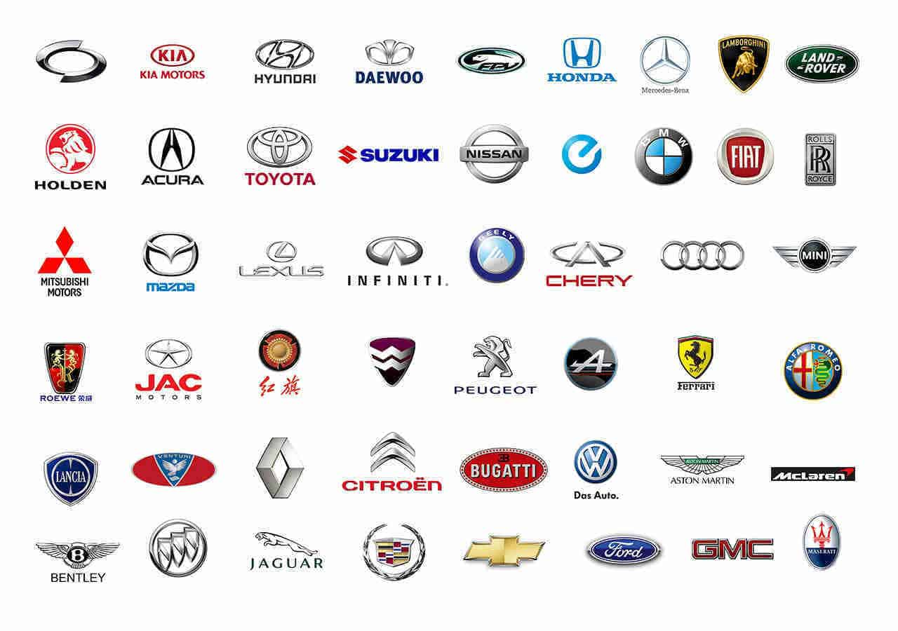 All Car Brands List And Car Logos By Country & Az