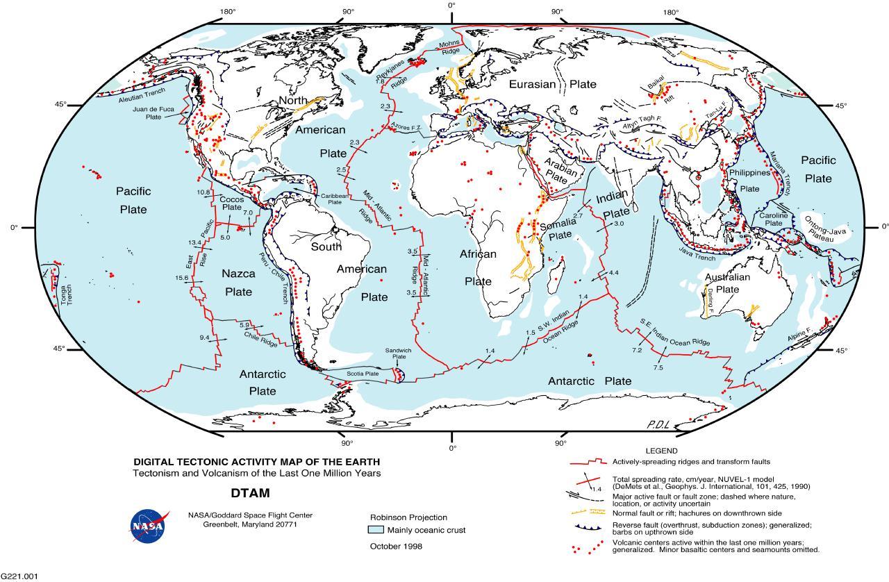 Evolving Earth Plate Tectonics