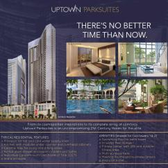 Sample Living Room Layouts Decor Ideas With Fireplace Uptown Parksuites In Global City | Megaworld's Best ...