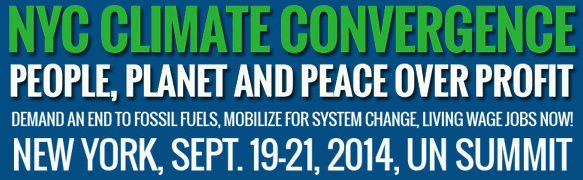 Please join us at the Climate Convergence for People, Planet and Peace over Profit, Sept. 19-21!