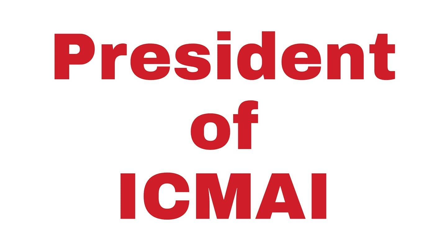 ICMAI President and Vice President for the year 2020-21
