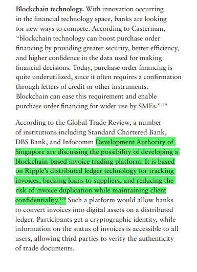 Singapore authorities Ripple blockchain based platform