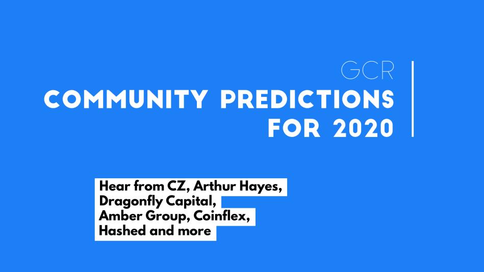 GCR 2020 community predictions