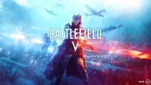 A promotional image for battlefield v