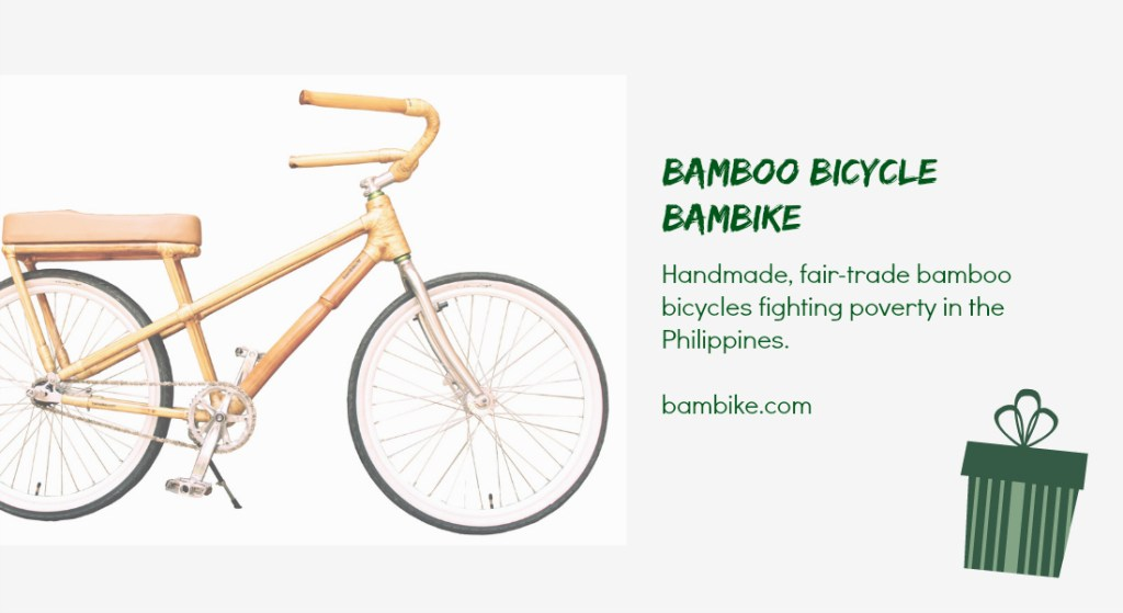 Bambikes - social enterprise holiday gifts