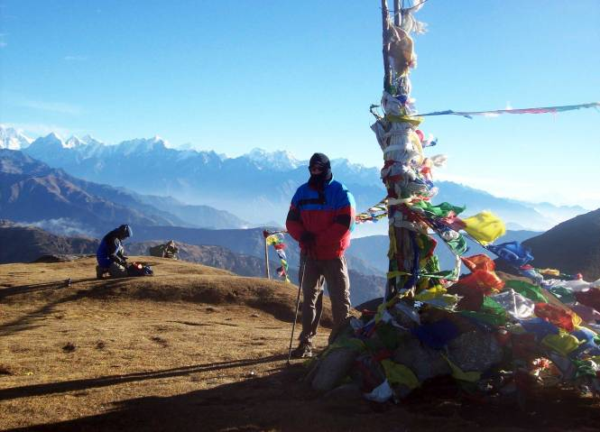 Jeff Rasley in the Himalayas