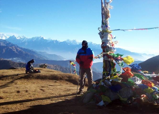 Jeff Rasley in the Himalayas