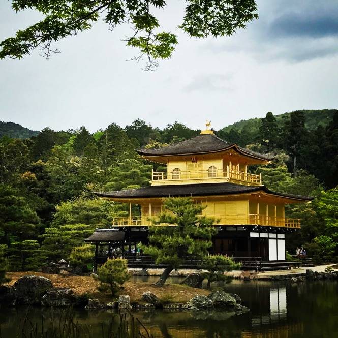 Golden Palace in Kyoto, Japan