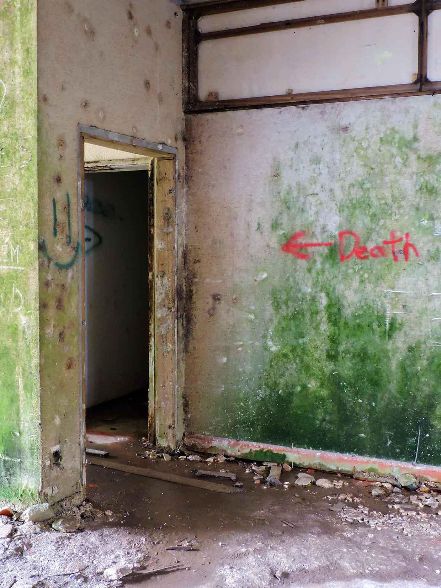 """Monte Palace """"death's door"""" in Sao Miguel, Azores"""