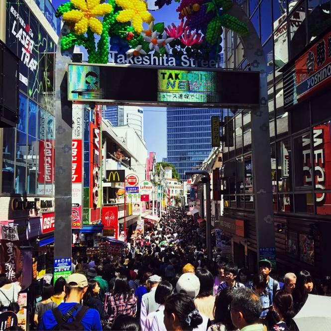 Takeshita Street in Tokyo