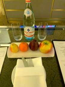 Breakfast in NYC hotel