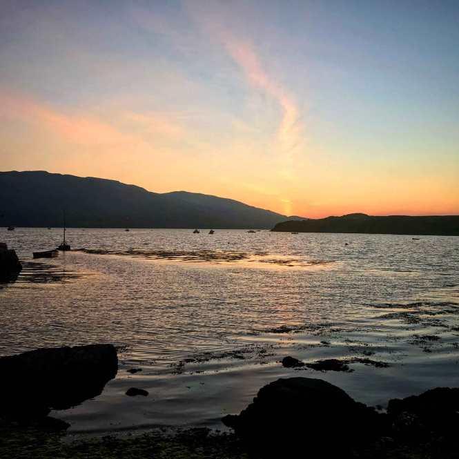 isle of skye sunrise in scotland