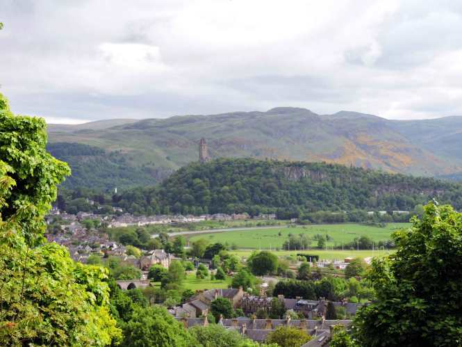 view of stirling scotland