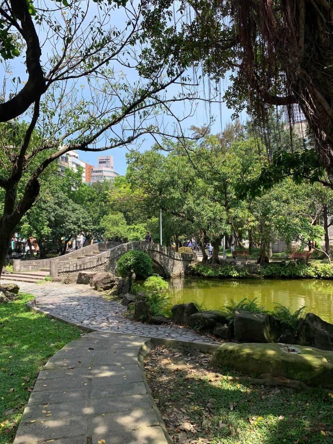 228 Peace Park in Taipei