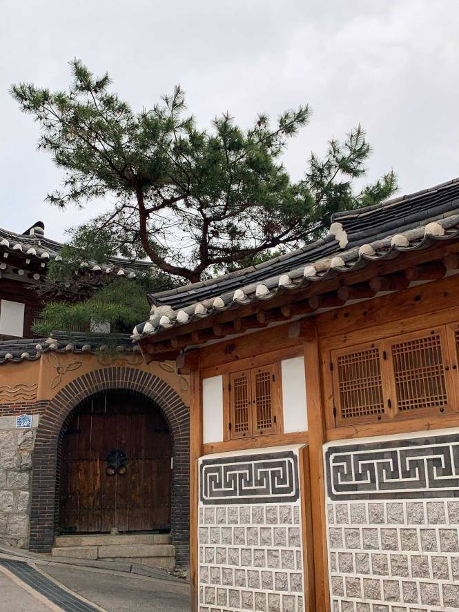 Bukchon Hanok in Seoul, South Korea