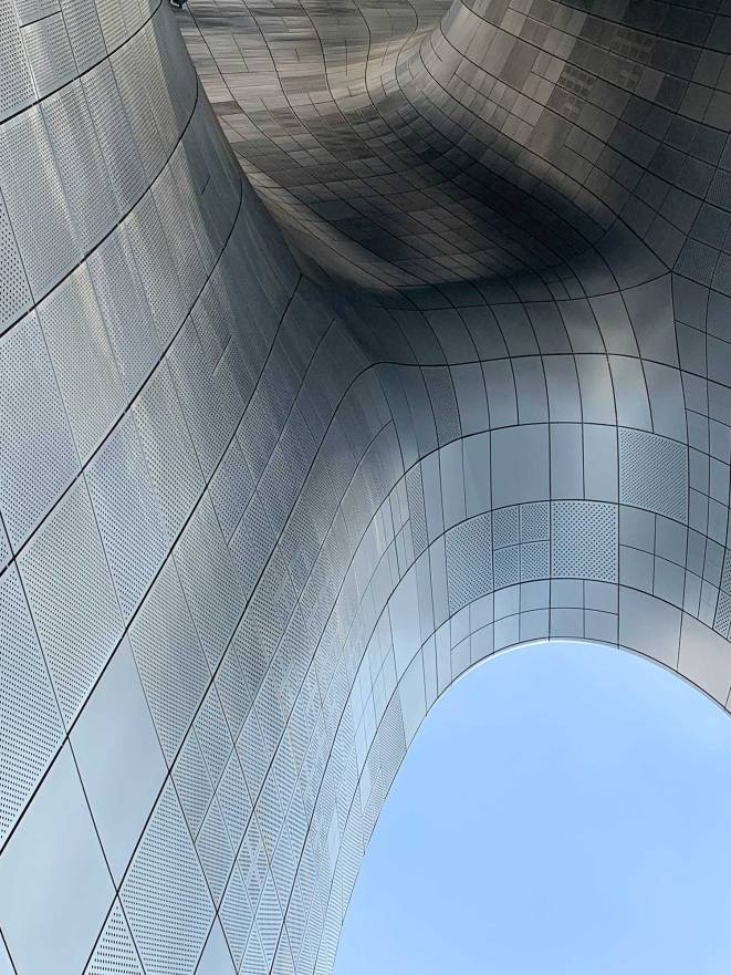 Dongdaemun Design Plaza in Seoul
