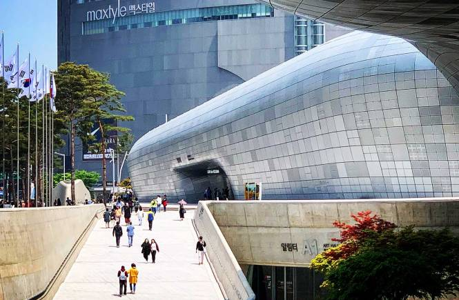 Asian Adventure Dongdaemun Design Plaza