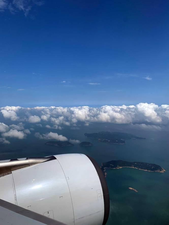 Flight into Taipei