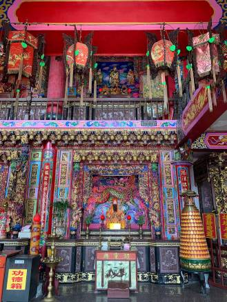 Jiufen Temple in Taiwan