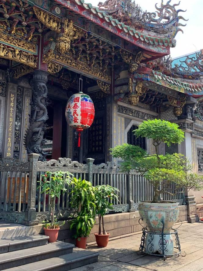 Longshan Temple in Taipei