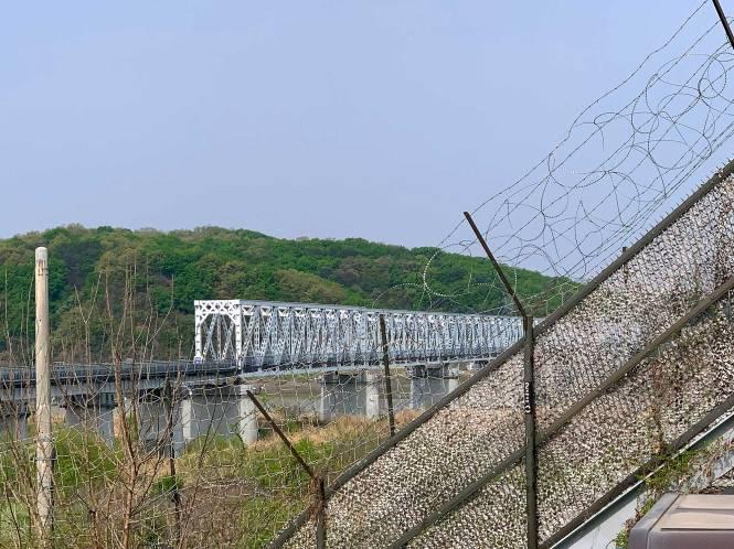 Visiting the DMZ border