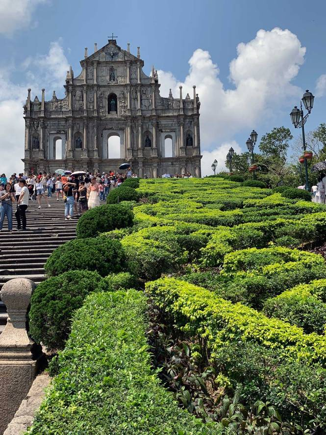 Ruins of Saint Paul in Macau