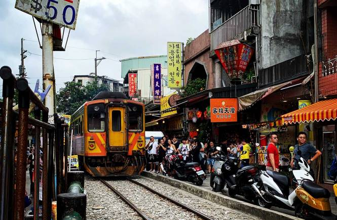 Shifen Village in Taiwan