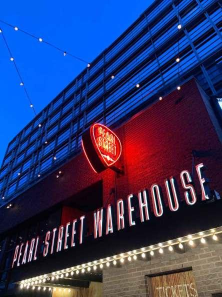 Pearl Street Warehouse exterior
