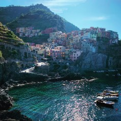 View of Cinque Terre in Italy