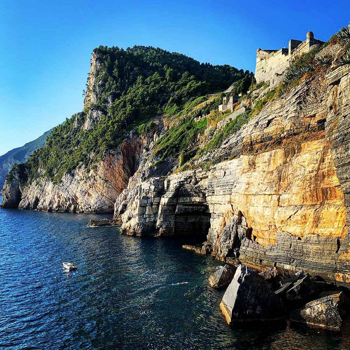Porto Venere near Cinque Terre, Italy