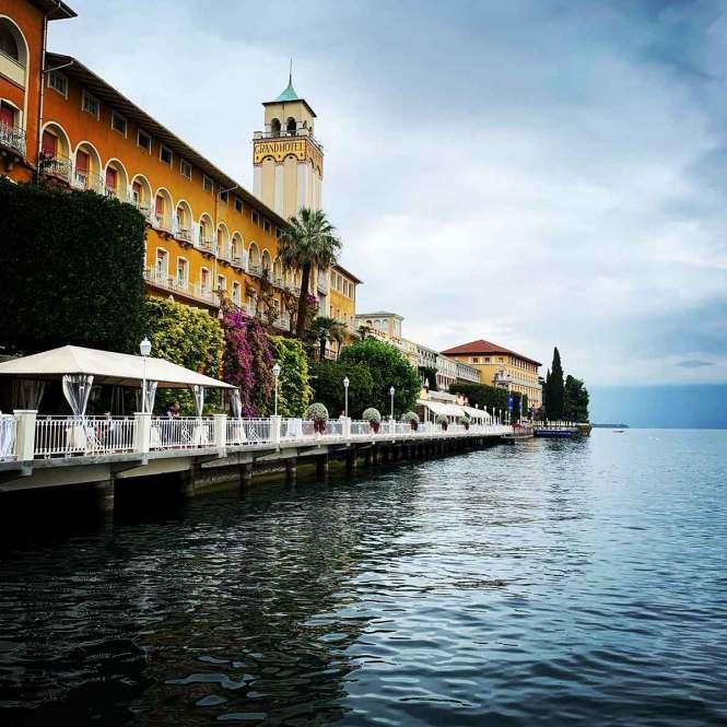 Grand Hotel on Lake Garda, Italy