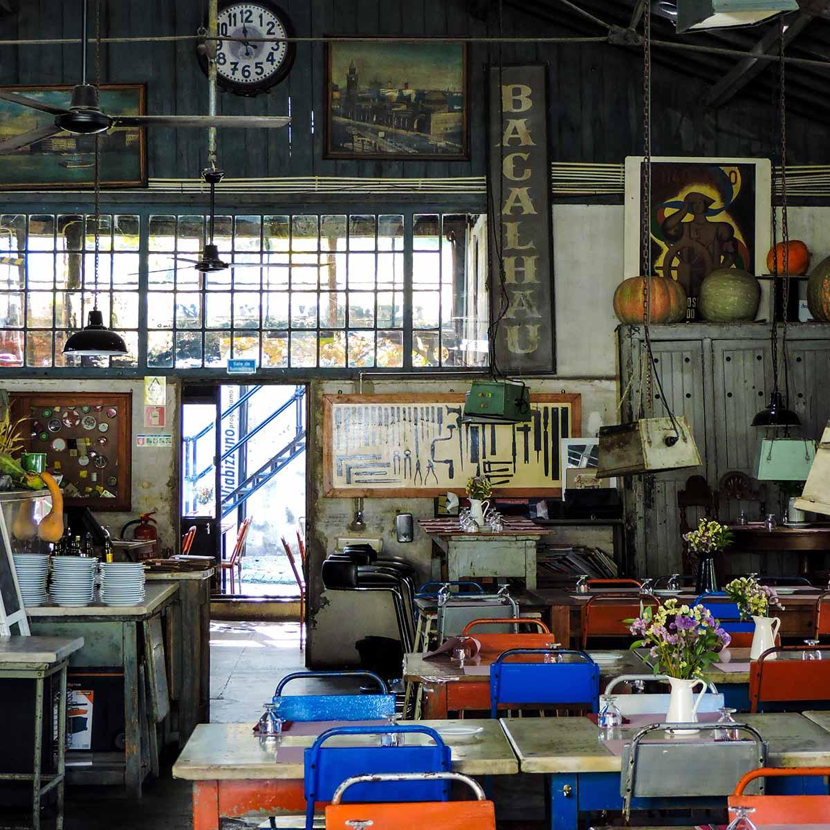 LX Factory restaurant in Belem
