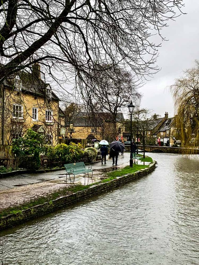 Bibury in the Cotswolds on our UK road trip