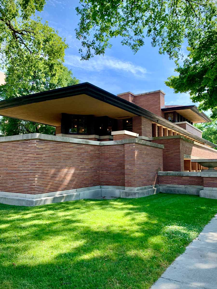 The Robie House in Chicago