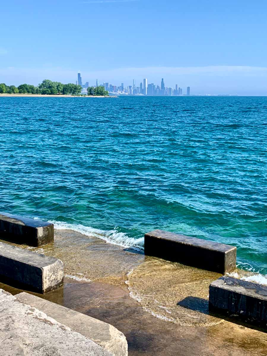 Promontory Point in Chicago