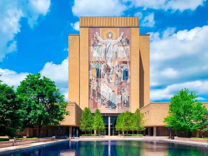 Touchdown Jesus at Notre Dame
