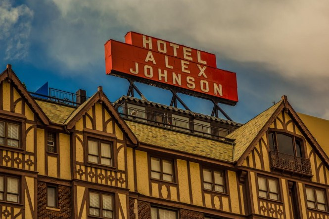 While doing all your things to do in South Dakota, have a spooky stay at the Hotel Alex Johnson.