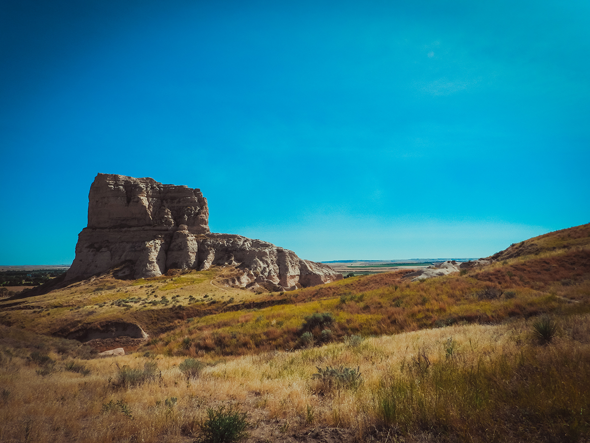 Courthouse & Jail Rocks while road-tripping Nebraska