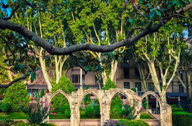 Arches in Avignon, France