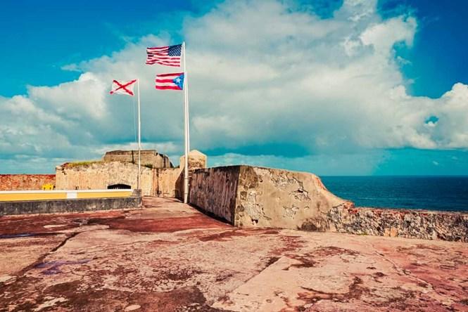 Oceanfront fort in Puerto Rico