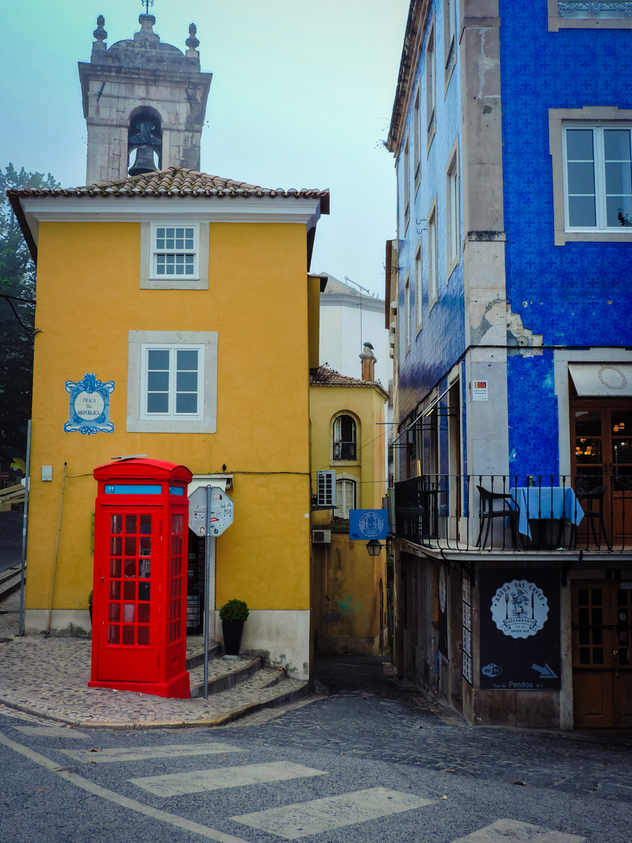 Downtown Sintra, Portugal