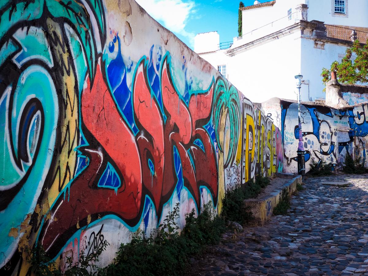 Lisbon grafitti