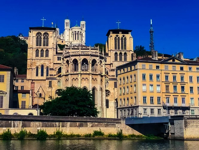 Cathedral in Lyon, one of the best cities in France to visit