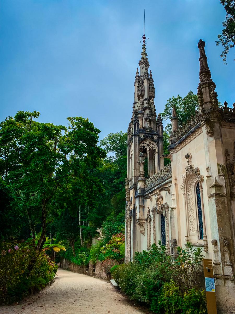 Quinta da Regaleira walk